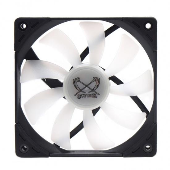 Scythe Kaze Flex 120 Slim (120x17mm) RGB PWM 300-1800 RPM Case Fan Image