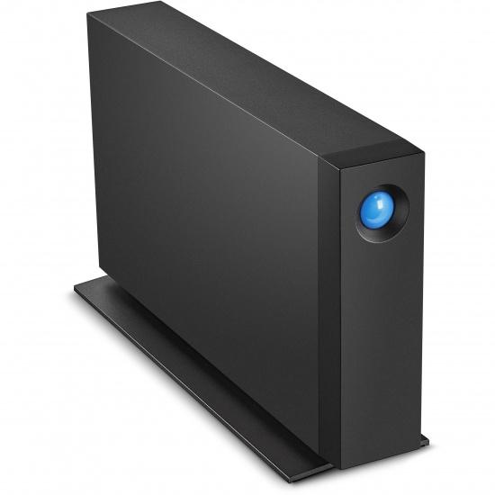 4TB Seagate LaCie D2 Professional USB3.1 External Hard Drive - Black Image