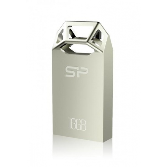 16GB Silicon Power Touch T50 Zinc-Alloy Compact USB Flash Drive Champagne Edition Image