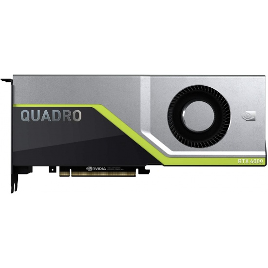 PNY NVIDIA Quadro RTX 6000 24GB GDDR6 Graphics Card Image