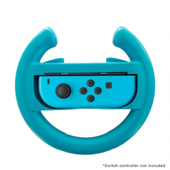 NEON Steering Wheel for Nintendo Switch - Blue Image