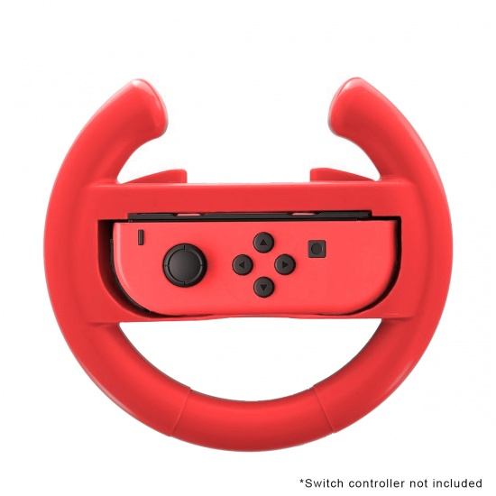 NEON Steering Wheel for Nintendo Switch - Red Image