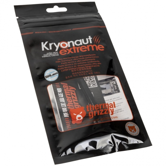 Thermal Grizzly Kryonaut Extreme Thermal Grease Paste - 2.0 Gram Image