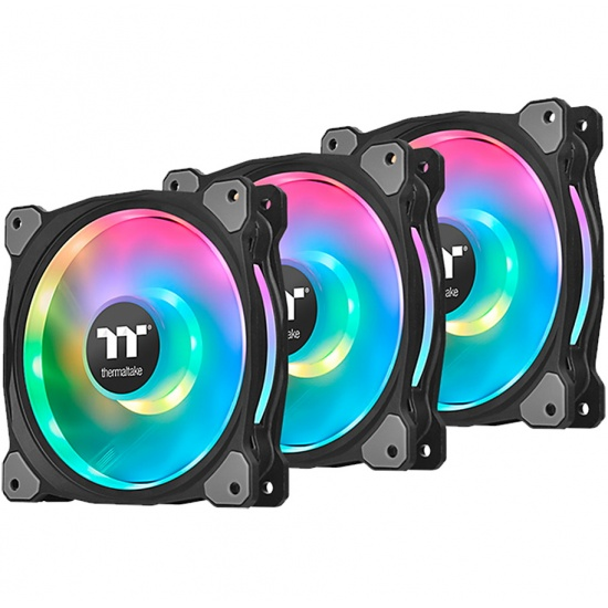 Thermaltake Riing Duo 12 RGB 120mm Computer Case Fans - Triple Pack Image