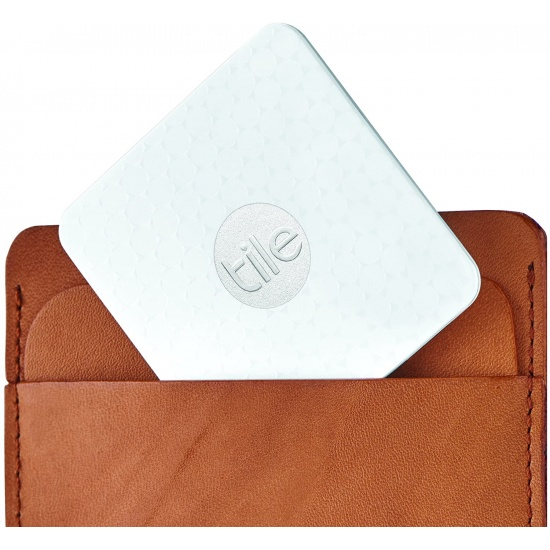 Tile Slim Phone and Wallet Filter - White 1-pack Image