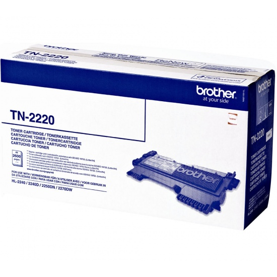 Brother Laser Toner Cartridge - TN-2220 - Black - 2600 Page Yield Image