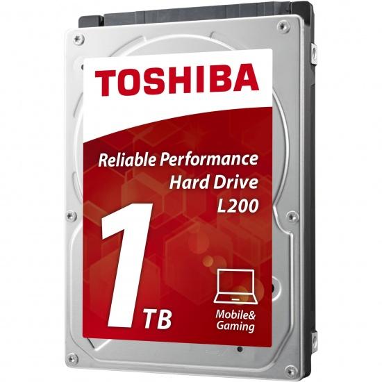 1TB Toshiba L200 2.5-inch SATA III Internal Laptop Hard Drive 5400rpm 8MB Cache Image