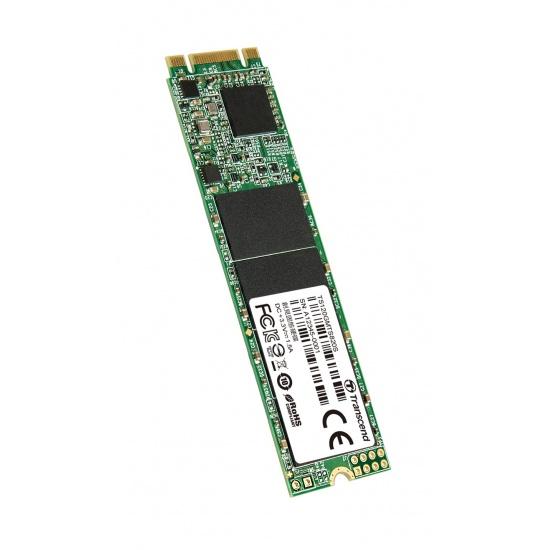 120GB Transcend M.2 SATA III 6Gb/s SSD MTS820S 3D TLC Flash 80mm Form Factor Image