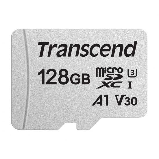 128GB Transcend 300S microSDXC UHS-I CL10 Memory Card 95MB/sec Image