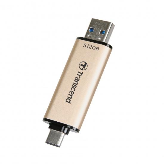 512GB Transcend JetFlash 930C 2-In-1 USB3.2 Flash Drive Image