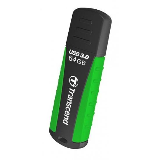 64GB Transcend JetFlash 810 USB3.0 Rugged Flash Drive Image