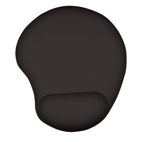 Trust Bigfoot Microfiber Gel Mouse Pad with Wrist Rest - Black Image