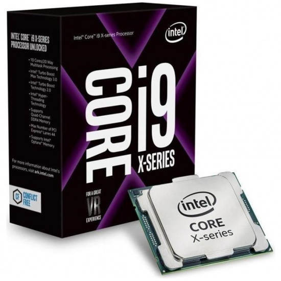 Intel Core i9-10940X Cascade Lake 3.3GHz 19.25MB Cache CPU Desktop Processor Boxed Image