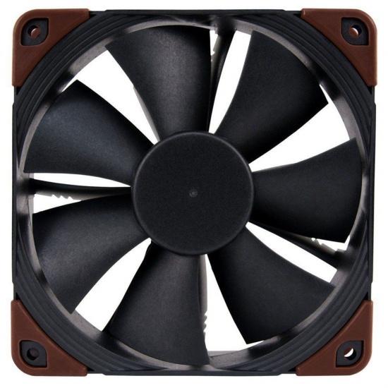 Noctua 120mm 29.7dBA Computer Case Fan - Black Brown Image