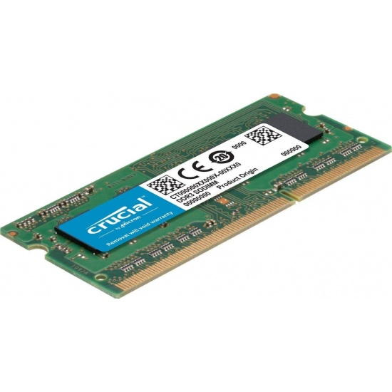 4GB Crucial DDR3 SO DIMM 1600MHz PC3 12800 CL11 1.35V Memory Module - for Apple iMac 27-inch Image