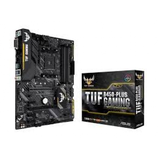 Asus TUF-B450 Plus Gaming AMD B450 AM4 ATX DDR4-SDRAM Motherboard Image