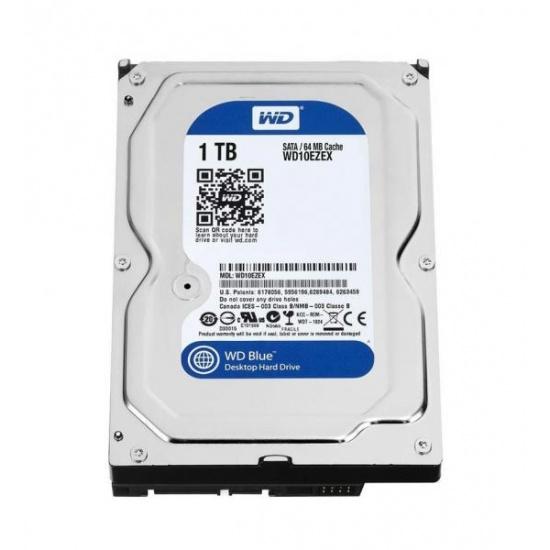 1TB Western Digital Blue 3.5-inch SATA III 6Gb/s desktop hard drive (7200rpm, 64MB cache) Image