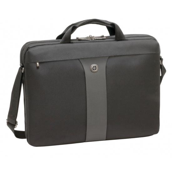 Wenger Legacy 17-inch Laptop Slimcase Black/Grey Image