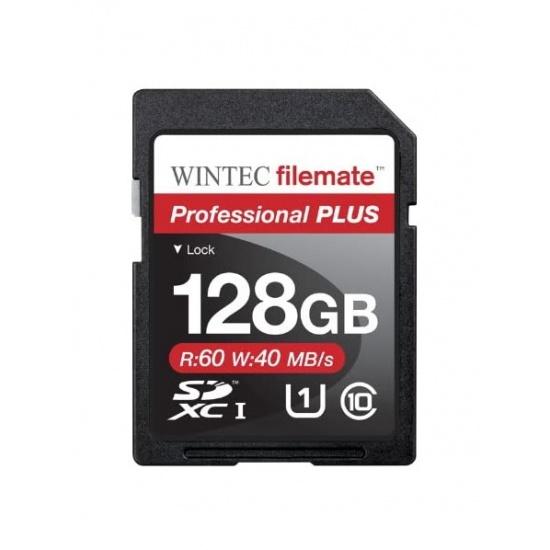 128GB Wintec SDXC Professional Plus UHS-I Memory Card Image