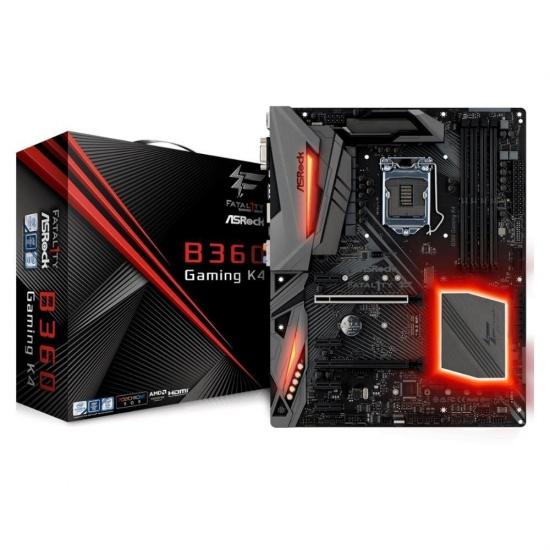 Asrock Intel B360 Gaming K4 ATX DDR4-SDRAM Motherboard Image