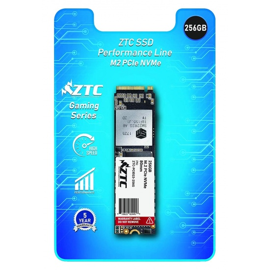 256GB ZTC M.2 NVMe PCIe 2280 80mm High-Endurance SSD Solid State Disk Image