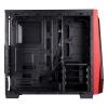 Corsair Carbide Spec-04 Midi Tower Computer Case - Black, Red Image